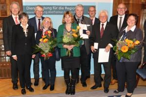 ... ebenfalls geehrt wurde 2. Bürgermeister Horst Geißel.