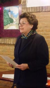Dr. Birgit Seelbinder bei der Laudatio